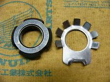 Honda CB 750 Four K0 - K2  Mutter und Sicherungsblech Nut, lock 16 mm and Washer