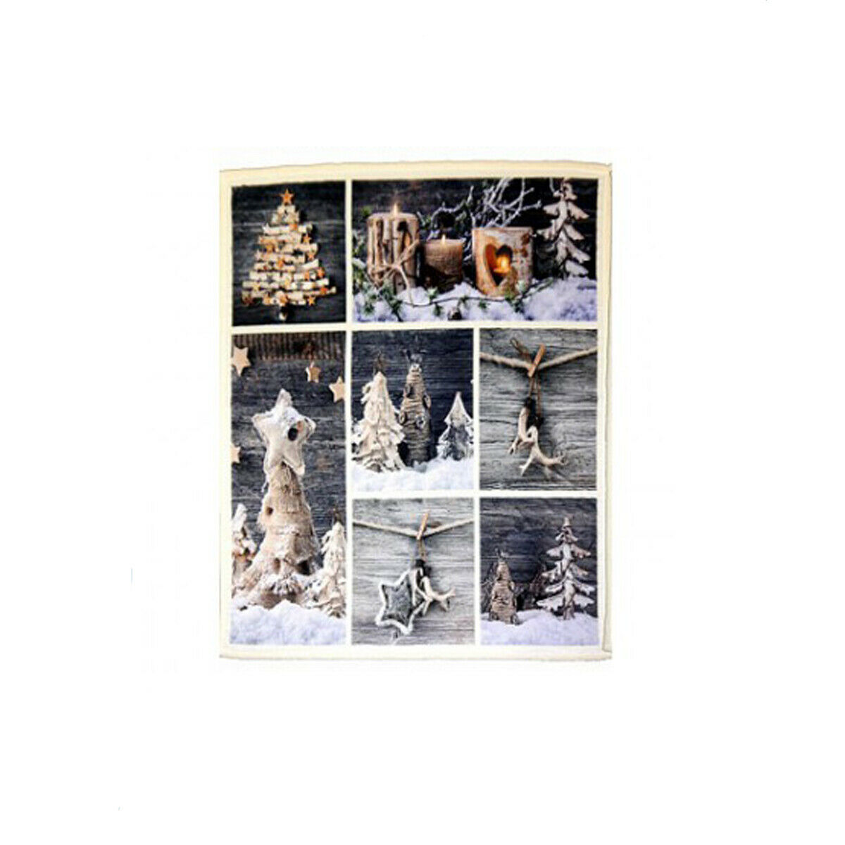 Wohndecke Winter 150x200 cm High Fleece Sherpa Digitaldruck Kuscheldecke Decke
