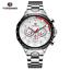 Automatik-Multifunktion-Herren-Uhr-Blau-Silber-Farben-Edelstahl-Armband-Uhren Indexbild 11