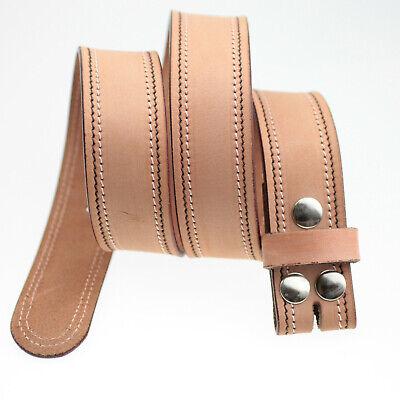 Cintura 100% Vera Pelle Cintura 4 Cm Cintura Di Cambio Cintura Pelle Donna Uomo-mostra Il Titolo Originale