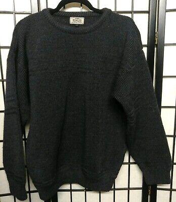 Mens Kennedy of Ardara Knit Pure New Ireland Irish Wool Sweater The Hillwalker L   eBay