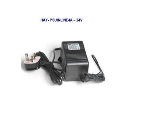 Haydon HAY-PSU VHikvision PTZ IP Analog Cameras 24vAC 4A Inline Power supply