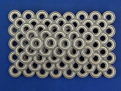 100 Stück 608 ZZ (8x22x7 mm) Kugellager, Miniaturkugellager  (2Z)