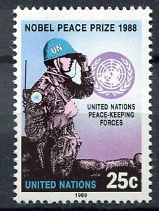 19219-UNITED-NATIONS-New-York-1989-MNH-Nuovi-Nobel-Peace