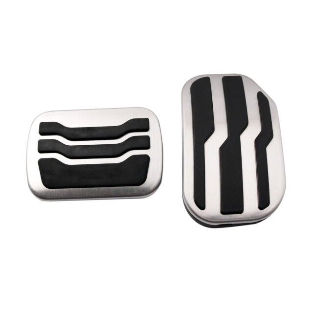 NUIOsdz Stainless Steel at Non-Slip car Pedal pad Accelerator Brake Pedal Cover for Ford Ford Raptor F150 2015-2020