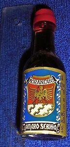Schnapsflaeschchen-Miniflasche-2-5-cl-Morandini-Amaro-Sebiao-30-vol-Italien