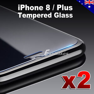2X-Premium-Tempered-Glass-Screen-Protector-Film-for-Apple-iPhone-X-7-6S-8-8-Plus