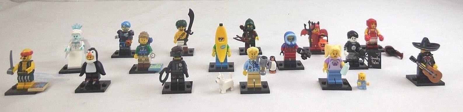 LEGO PERSONAGGI SERIE 16 completamente, completamente, personaggi 16