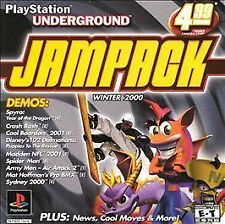 PlayStation Underground Jampack: Winter 2K (Sony PlayStation 1, 2000) Complete