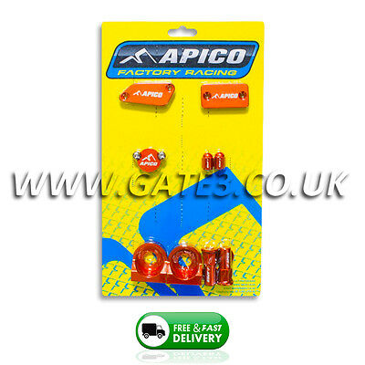 NEW KTM 65SX SX 65 2003-2011 Orange Apico Factory Bling Pack Kit