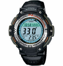 Casio Twin Sensor Watch, Compass, Thermometer, 200 Meter WR, 5 Alarms,SGW100B-3V