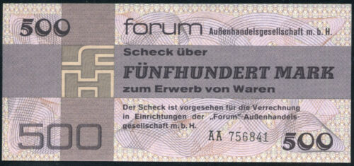 500  MARK 1979  P FX7  Uncirculated GERMANY  DEMOCRATIC  REPUBLIC