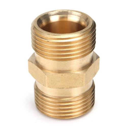 M22//14mm to Male Adaptateur Coupleur Nettoyeur haute pression tuyau de pompe à Vis Accessoires