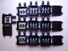 Ten-10 Solar panel junction box solar cells diy 3x6 6x6 waterproof 10 amp diodes