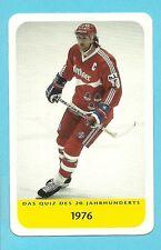 Erich Kühnhackl Hockey Team Germany Cool Collector Card Europe Look!