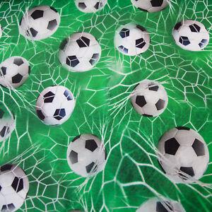 Details Zu Jersey Stoff Fussball Em Wm Kicker Soccer Digital Druck Grun Jungenstoff Kinder