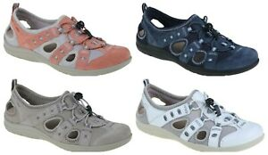 7833aef7c1fcc Earth Spirit Ladies Winona Lace Toggle Cut Out Comfort Trainer ...