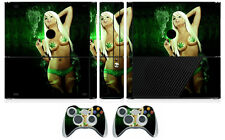Babe 208 Vinyl Cover Decal Skin Sticker for Xbox360 Slim E and 2 controller skin