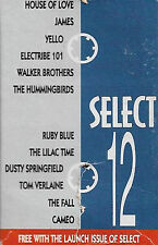 Various Select 12 CASSETTE PROMO YELLO THE FALL etc Electronic Rock Pop