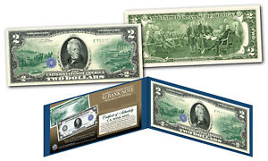 1914-Series-10-Andrew-Jackson-FRN-designed-on-modern-Genuine-2-U-S-Bill