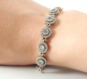 925-Sterling-Silver-Handmade-Gemstone-Turkish-Zircon-Ladies-Bracelet