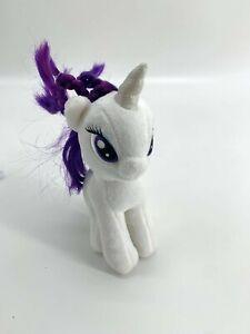 my little pony rarity plush 6 inch authentic mlp