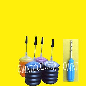 120ml encre kit de recharge pour hp cartouche 60 61 62 63 65 hp62 hp63 5745 3630 ebay. Black Bedroom Furniture Sets. Home Design Ideas