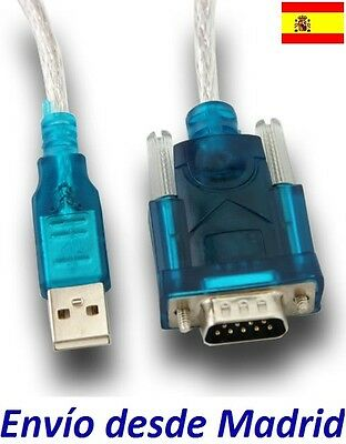 Cable USB a Serie Serial DB9 Rs232 Windows 7 8 8.1 GPS PDA 32 64 bits