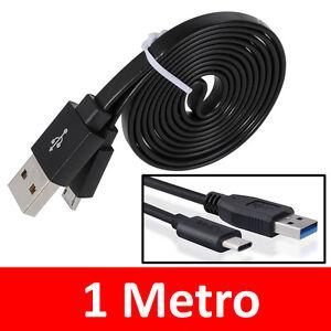 Cavo-cavetto-USB-tipo-C-dati-ricarica-veloce-batterie-Samsung-Xiaomi-Redmi-Pixel
