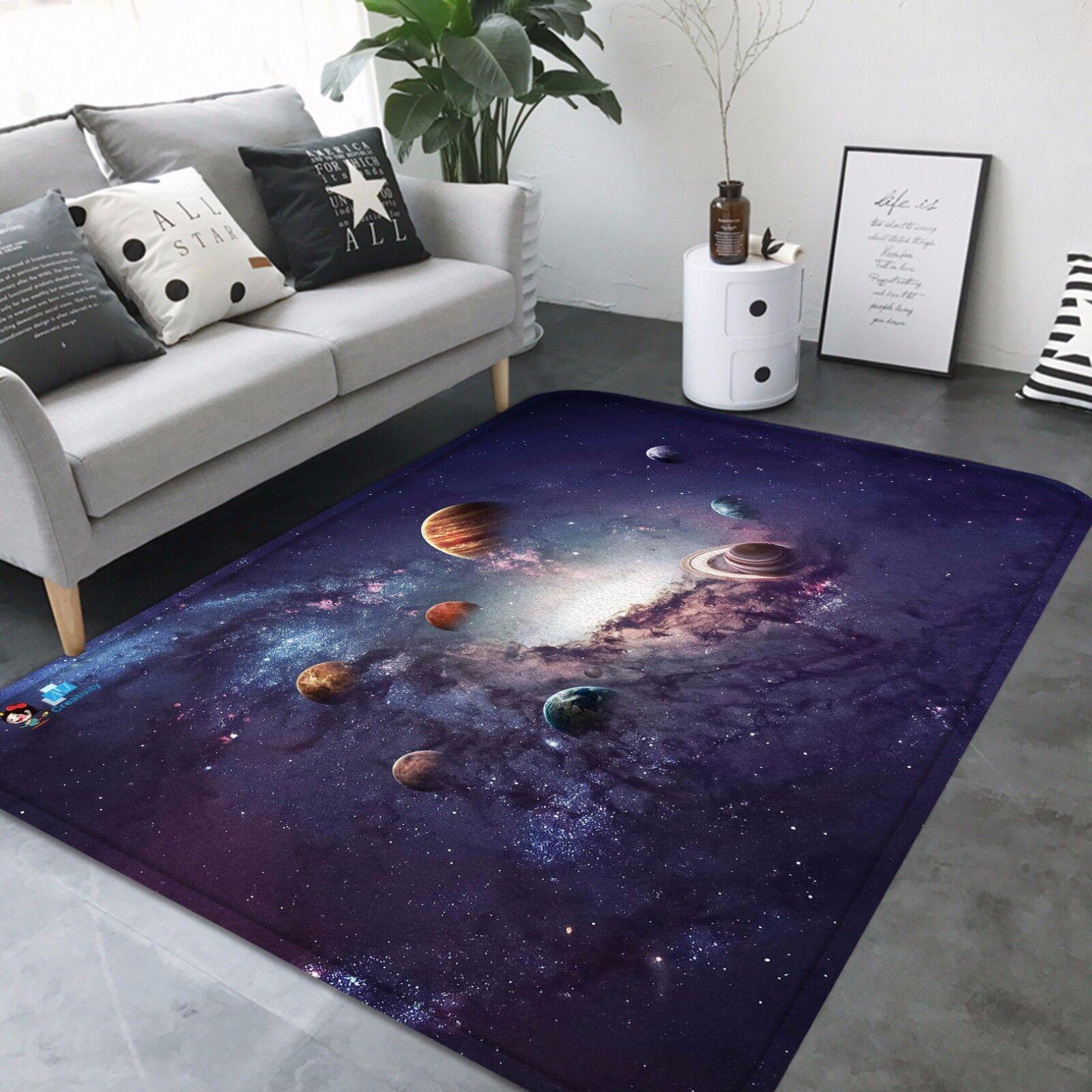3D Universe Planet 832 Non Slip Rug Mat Room Mat Round Elegant Photo Carpet CA