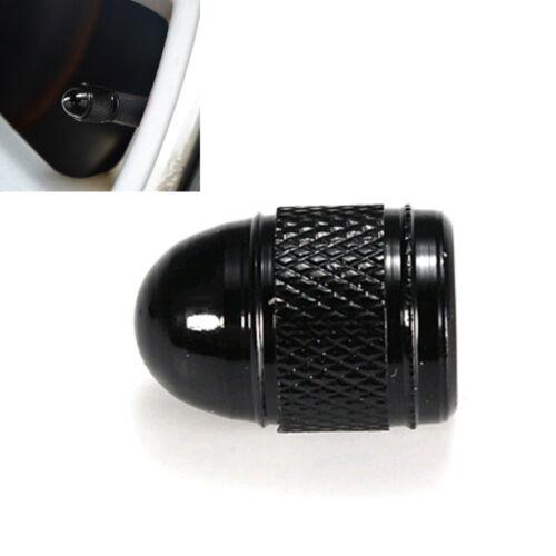 4pcs Aluminum Bullet Air Port Cover Tire Rim Valve Wheel Stem Cap Accessories