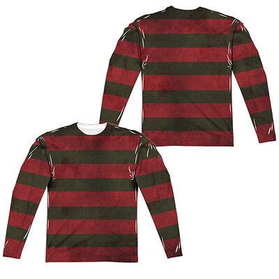 A Nightmare on Elm Street Movie FREDDY CLAWS Adult Long Sleeve T-Shirt S-3XL