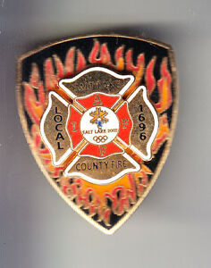 RARE-PINS-PIN-039-S-POMPIER-FIRE-UNIT-OLYMPIQUE-OLYMPIC-SALT-LAKE-CITY-2002-BS