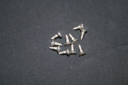 Sunbeam Alpine Series I II and 3 Grille Mounting Stainless Flat Head  Screws