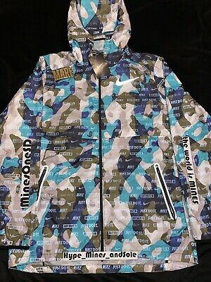 Nike Shield Ghost Camo 3M Running Jacket Large AH5987-317 ...
