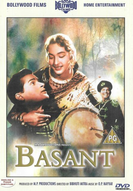 BASANT - SHAMMI KAPOOR - NUTAN - PRAN - NEW BOLLYWOOD DVD - FREE UK POST