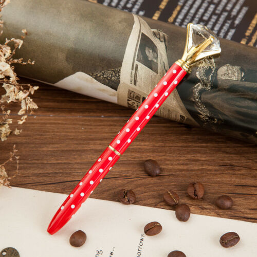 """Diamond /""""Clam/"""" Top Ballpoint Pen Fashion Good Gift Quality Variety of colours"""