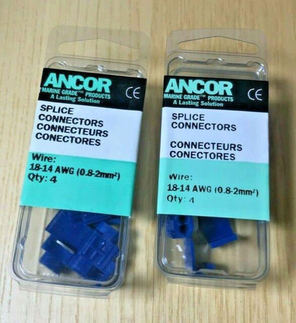 Ancor 230615 Marine Grade Splice Connectors for 18-14 Gauge Wire 4 Pack