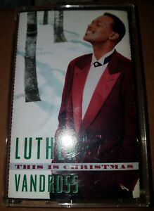 image is loading this is christmas by luther vandross cassette - Luther Vandross Christmas