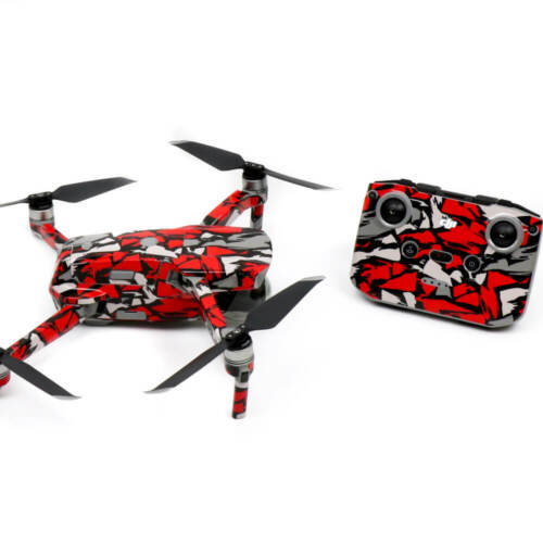 Red Rock Drone Skin Wrap Stickers Decal for DJI Mavic Air 2