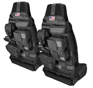 Image Is Loading NEW Black Front Cargo Seat Cover PAIR W