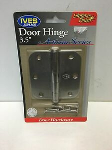 Ives Schlage Lifetime Finish Satin Nickel 3 5 Quot Door Hinge