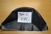 Vw Volkswagen Bus Type 2 Westfalia Camper Black Spare Tire Cover Usa Made