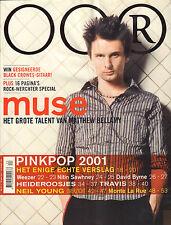 MAGAZINE OOR 2001 nr. 12 - MUSE/NEIL YOUNG/HEIDEROOSJES/DAVID BYRNE