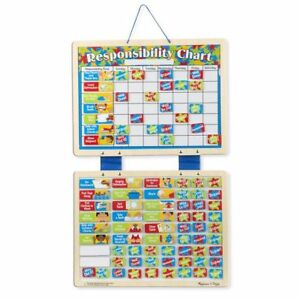 Image Is Loading Magnetic Responsibility Chart From Melissa Amp Doug 5059