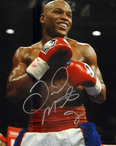 FLOYD MAYWEATHER SIGNED 8 X 10 RP PHOTO AUTOGRAPHED REPRINT