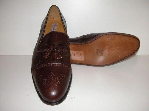 omaggi allo stadio Uomo-Sandro Moscoloni-Dimensione 17M-Medium Marrone Dress Loafer Shoe Shoe Shoe  l'intera rete più bassa