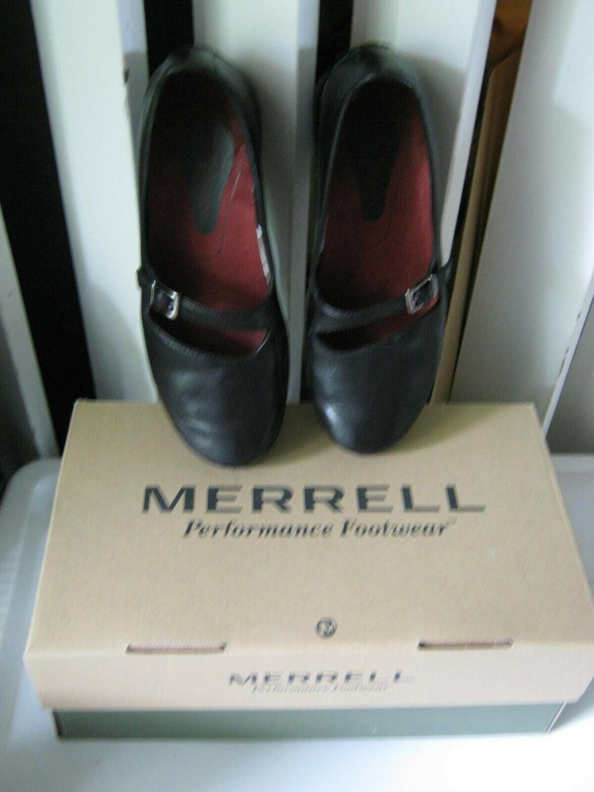 vendita outlet Merrell Performance Performance Performance Footwear nero scarpe Mary Jane Spire Emme Dimensione 6M  moda