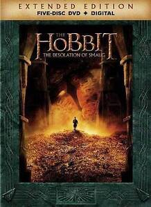 The hobbit: the desolation of smaug [extended edition] [5 discs.