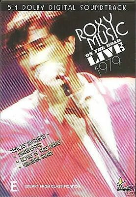 ROXY MUSIC on the road Live 1979 (PAL Format DVD. REGION ALL)